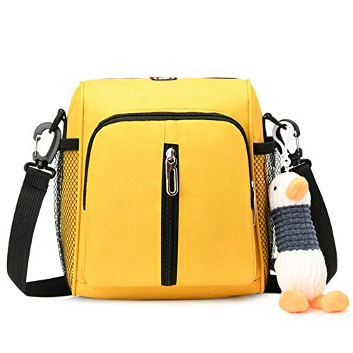 N-B Retro Portable Mommy Bag Baby Carriage Bag Handbag Leisurely Small Square Bag Wild Shoulder Bag Elegant Female Bag