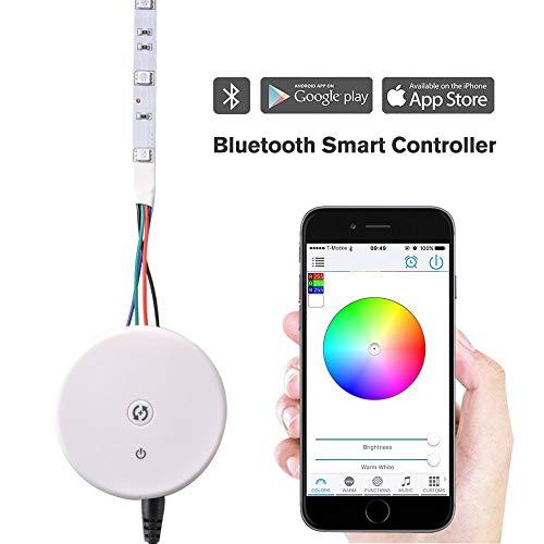 Preisvergleich Produktbild DC12V / 24V 16A Bluetooth Apple iOS Android Remote Control Fernbedienung Controller Kontroller Steuerung für RGB RGBW LED Fee Beleuchtung Stripe Licht Streifen