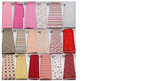 Stoffpaket rot rosa verschiedene Größen Baumwolle Stoffreste Webware Patchwork Baumwollstoff Restepaket weinrot pink pastell Anker maritim Blumen Streifen Muster Sterne floral Mandala Bohemian