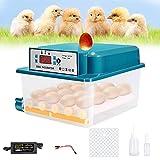 PaNt Incubateur à oeufs Couveuse automatique de affichage digital de la température Éclosoir de grande capacité...