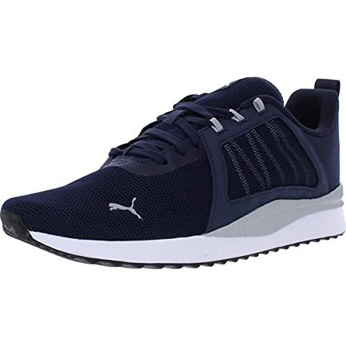 PUMA Mens Pacer Net Cage Trainers Sneakers Running Shoes Navy 11 Medium (D)