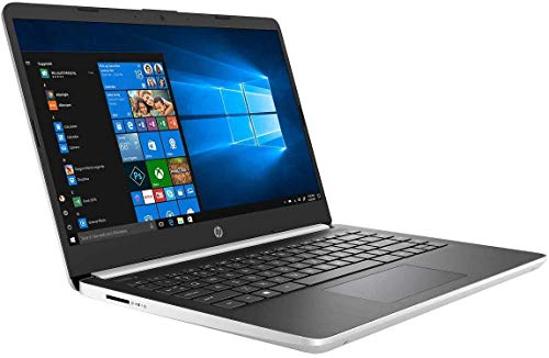 "HP 14"" FHD IPS WLED-Backlit Laptop, Intel Quad-Core i5-1035G4 up to 3.7GHz, 4GB DDR4, 128GB SSD, 802.11ac (2x2), Bluetooth 5.0, Backlit Keyboard, USB 3.1-C, HD Webcam, HD Audio, Windows 10 in S Mode"