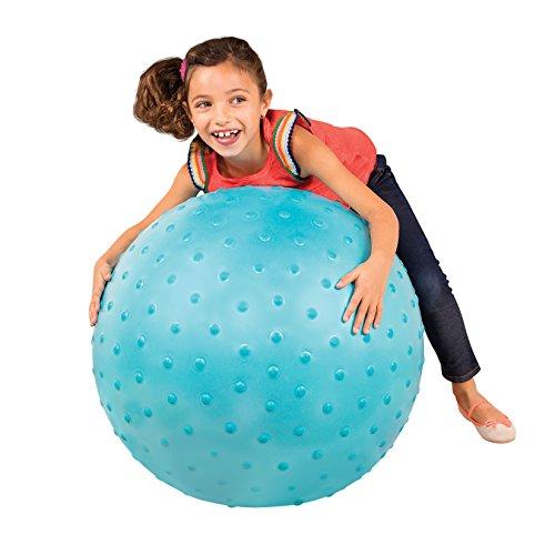 B. toys – Bouncy Ball – Blue Hopper Ball – Sit & Bounce – for Toddlers, Kids – Big Ball...