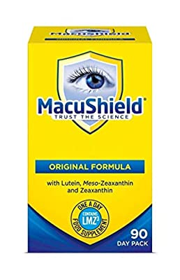 Macushield   MacuShield Capsules 90's   1 x 90 Capsule (UK)