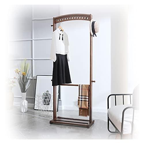 LM-Coat rack XINGLL Percheros Pie Perchero, Almacenamiento Independiente Zapatos para Ropa, Ideal para Pasillo, Dormitorio, Entrada, Oficina Y Más, Muebles Decorativos con Apariencia Madera
