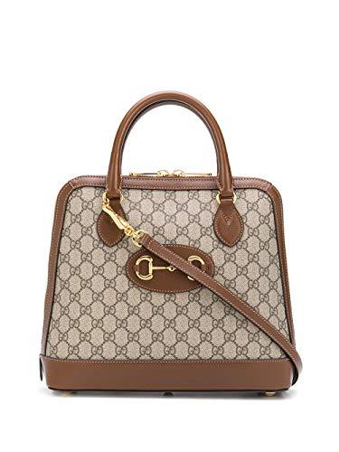 Luxury Fashion | Gucci Dames 62085092TCG8563 Bruin Polyurethaan Handtassen | Lente-zomer 20