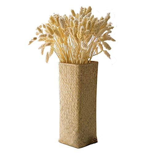 KDHJY Gute Qualität 50 Stück natürliche getrocknete Edelstein Gras Bouquet trockene Blume Display Dekoration for zu Hause kunstblumen (Color : 50pcs Raw Color)