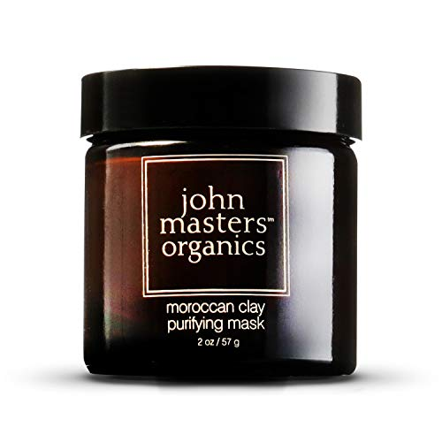 john masters organics moroccan clay purifying mask, Gesichtsmaske,  1er Pack (1 x 57 ml)
