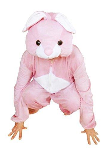 Hasen-Kostüm, J02 Gr. XL, Für hoch gewachsene Männer und Frauen! Hase Karnevalskostüm, Hasen-Kostüme für Fasching Karneval, als Karnevals- Fasnachts-Kostüm, Tier-Kostüme Faschings-Kostüme Erwachsene