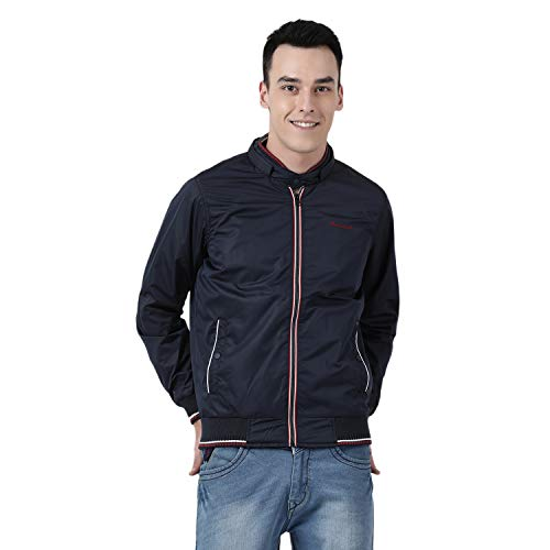 Monte Carlo Men's No Style Name Regular fit Jacket (219045157-1_Navy_44)