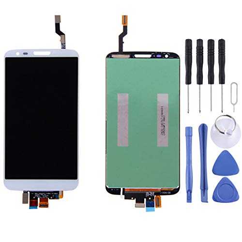 YICHAOYA Screen Replacement for LG Optimus G2 / LS980 / VS980(Black), Repair Broken Screen,LCD Touch Screen Display Professional Digitizer Total Assembly, with Repair Tool Kit (Color : White)