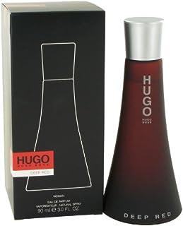 Hugo Deep Red by Hugo Boss for Women - Eau de Parfum, 90ml
