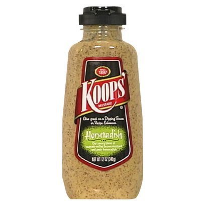 Koops Horseradish Mustard Max 53% OFF 12-Ounce Squeeze 12 Max 47% OFF Pack of Bottles