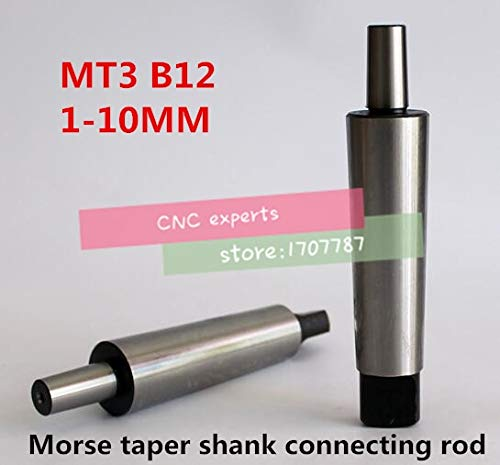 Best Review Of Tool Parts Reducing Drill Occus MT3 to B12 1mm-10mm Morse Taper Shank Drill Chuck Arb...
