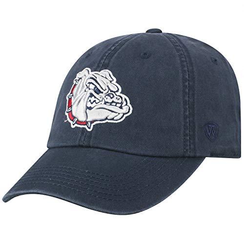 Top of the World Verstellbare Mütze mit entspannter Passform, Team-Farbe, Herren, Gonzaga Bulldogs Navy, Einheitsgröße
