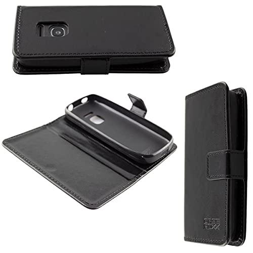 caseroxx Handy Hülle Tasche kompatibel mit Nokia 225 4G (2020) Bookstyle-Hülle Wallet Hülle in schwarz
