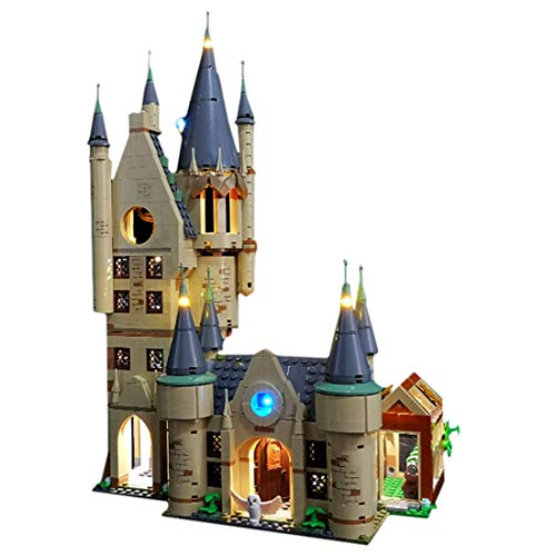 RAVPump LED Lighting Kit for Harry Potter Hogwarts Astronomy Tower Blocks Model - LED Light Set Compatible with Lego 75969(ONLY Light Set)