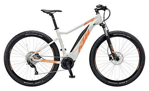 KTM Macina Ride 292 Bosch Electric Bike 2019, Hellgrau matt/Orange, 21'/53cm