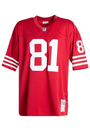 Mitchell & Ness San Francisco 49ers–Terrell Owens Legacy NFL Réplica Jersey 2002, Hombre, Rojo, Medium