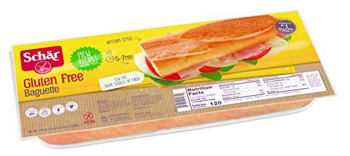 Schär Gluten Free Baguette, 2-Count, 6-Pack