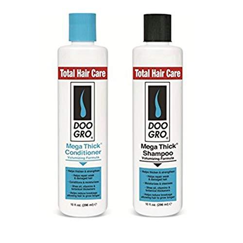 Doo Gro - Shampoing + Après Shampoing Pousse Croissance Cheveux Endommagés Perte Epaissisant