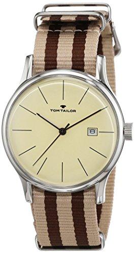 TOM TAILOR Watches Herren-Armbanduhr Analog Quarz Nylon 5415103