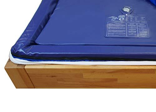 Traumreiter Wasserbettmatratze Softside Mono 140x200cm MESAMOLL 2 Solo Wassermatratze Wasserkern-Matratze
