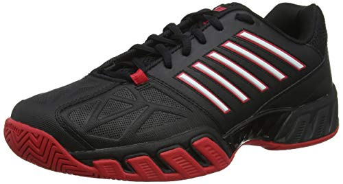 K-Swiss Performance Herren Bigshot Light 3 Tennisschuhe, Schwarz (Black/Lollipop/White 073-M), 47 EU
