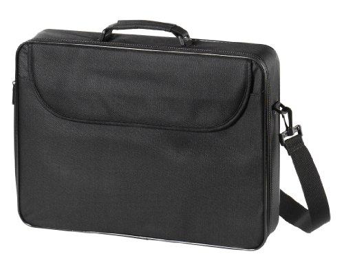 Vivanco NB ESS Notebooktasche mit Schultergurt & Tragegriff bis 43,9 cm (17,3 Zoll) schwarz