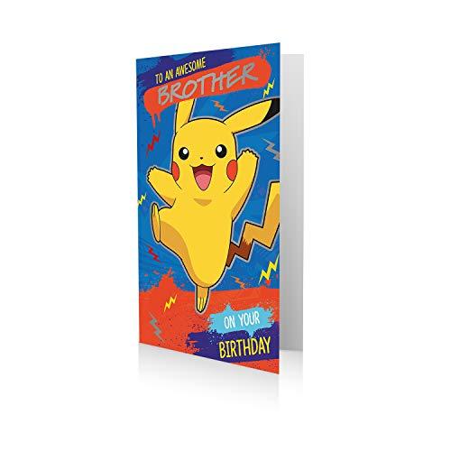 Offizielle Pokémon-Geburtstagskarte für einen fantastischen Bruder.