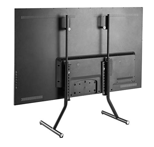TechOrbits Universal TV Stand - Height Adjustable Table Top TV Legs Base for TVs 37-70' Fits Samsung LG Vizio & More