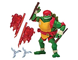 Most detailed figures ever! 13 pts of articulation for maximum action figure play Complete with articulation. Accessories included: 2 Tonfa weapons, translucent power up gloves, and 2 throwing stars Perfect replica of the characters from The Rise of ...