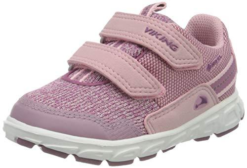 viking Rindal GTX, Unisex-Kinder Sneaker, Pink (Pink/Violet 921), 30 EU (11.5 UK)
