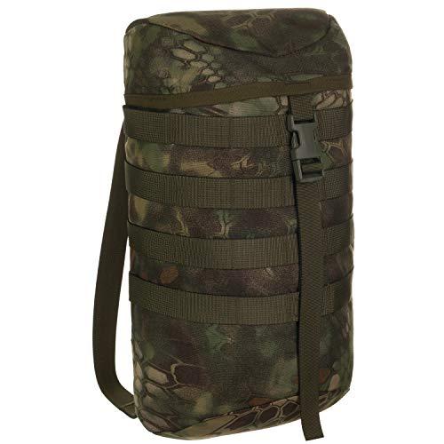 Wisport Seitentasche 9L + inkl. E-Book | Tasche für Backpack | Rucksack taktisch | Expeditionsrucksack | Jagdrucksack | Cordura | Kryptek Mandrake