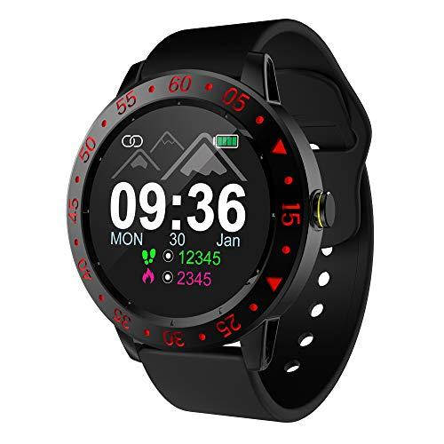 Relojes inteligentes Bluetooth, cámara Música Reproducir deportes Reloj inteligente Teléfono con podómetro Monitor de sueño Iphones compatibles Teléfonos Android para mujeres Hombres Regalos par