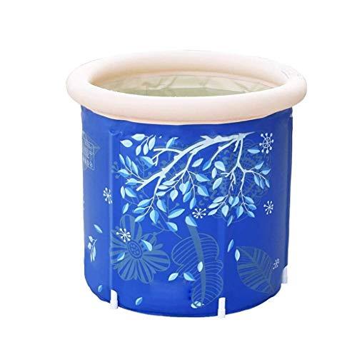 Bañera inflable gruesa para el hogar, de plástico, para adultos, con cojín integrado en el barril de baño para niños WTZ012