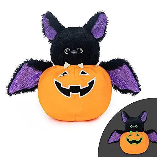 My OLi Stuffed Animal Plush Halloween Toy Plush Bat Glow in the Dark Toy Halloween Ornaments/Gifts for Kids Baby Toddler