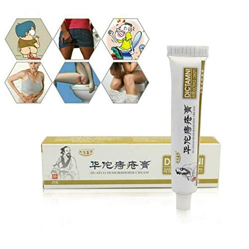 Fushe Chinese Herbal Hemorrhoids Ointment Anal External Gel for instant Relief Detoxifies inflamed Area & Stops Bleeding, Pain & Swelling
