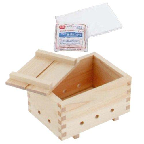 Yamako Tofu Maker Kit HINOKI #82597 by Tofu Kit