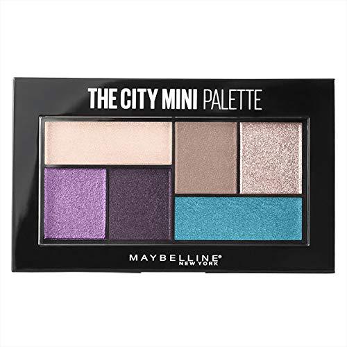 Maybelline The City Mini Paleta de Sombras Tono 450 Graffiti Pop, Morados y Azules - 6 gr