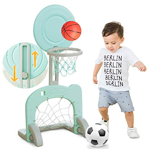 CXYDP Kinder Basketballständer Basketballkorb Einstellbare Höhe Für Kleinkind Kinder Juniors Indoor Outdoor Sport Treiben