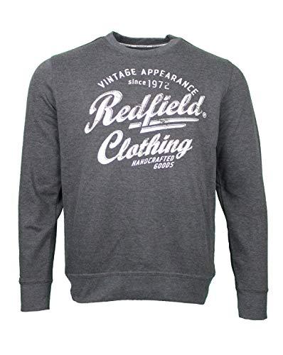 Redfield Logo Sweatshirt auch in Übergröße