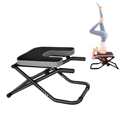 jooe Aparatos Inversión Yoga Headstand Bench para Aliviar La Fatiga Y Desarrollar Cuerpo Fitness Familiar
