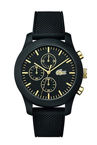 Lacoste - Herren -Armbanduhr 2010826,schwarz (schwarz/gold)
