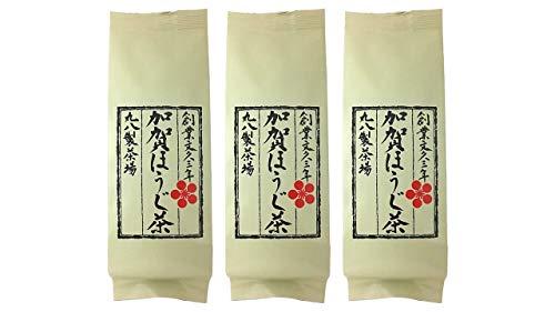 丸八製茶場 加賀ほうじ茶 60g×3袋