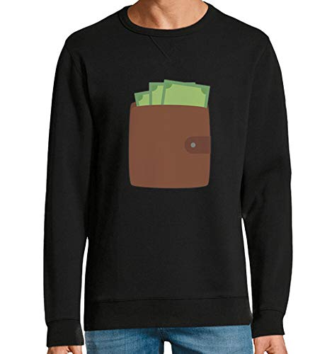 tostadora - T-Shirt Portafoglio con I Soldi - Uomo e Donna Nero M
