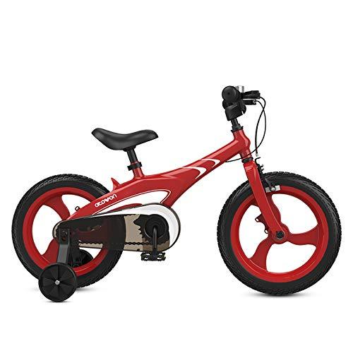 FACAI Bicicletas para Niños Niños Mayores Niños Bebés Niños Bicicletas para Mujeres Bicicletas para Bebés Bicicletas 3-8 Años,White