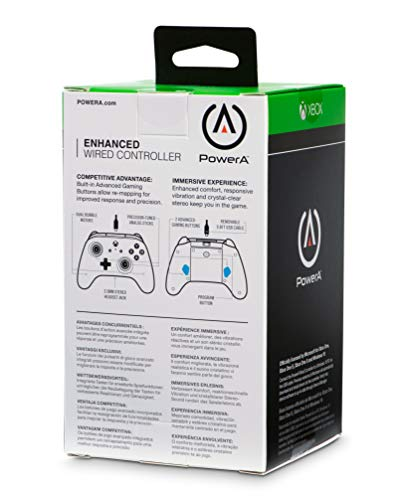 41gl3q98XbL - PowerA Enhanced Wired Controller for Xbox One - Black