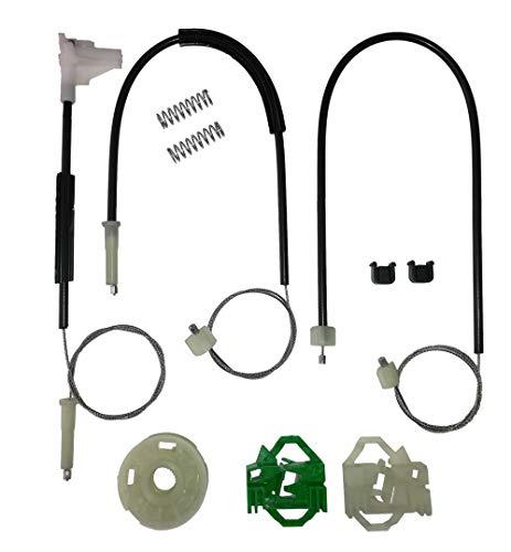 Twowinds - 6K3837401B Kit de reparación de elevalunas eléctricos Delantero Izquierdo Cordoba 6K2 6K1 6K5 Ibiza II 6K1