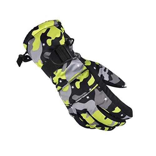 YQRJYB Ski Handschoenen Voor Mannen Vrouwen Waterdichte Thermische Winter Warm Snowboard Snowmobile Motorfiets Sneeuw Werk Winddichte Handschoenen